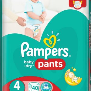 Pampers Baby-Dry Pants S4 (8-14 kg) 40 st
