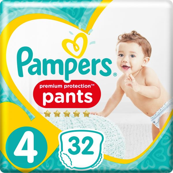 Pampers Pants s4 9-15kg 32 st
