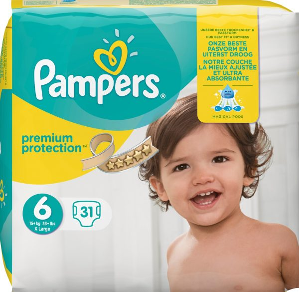 Pampers Premium protection S6 15+ kg 31 st