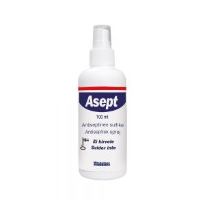 Asept Multifunktionell Antiseptisk Spray 100 ml