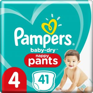 Pampers Baby Dry Pants S4 9-15kg 41 st