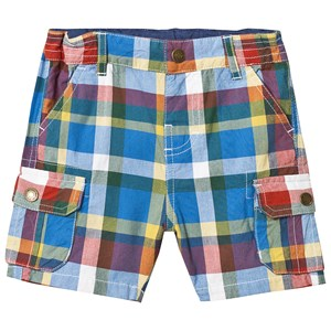 Frugi Shorts Scilly Check 6-12 months