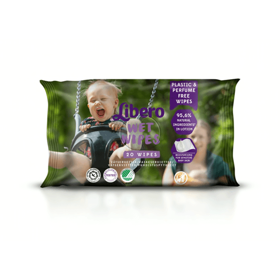 Libero Wet Wipes Travel Pack 20-pack