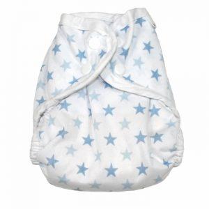 MuslinZ Tygblöja (Blå Stjärnor)