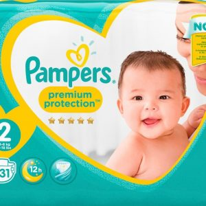 Pampers Premium Protection S2 4-8kg 31 st