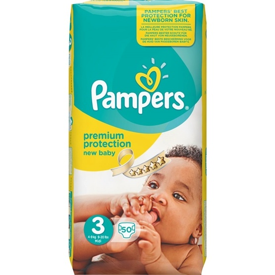 Pampers Premium Protection S3 6-10 kg 50 st