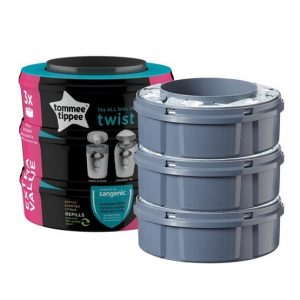 Tommee Tippee Sangenic Twist & Click Refill 3-pack