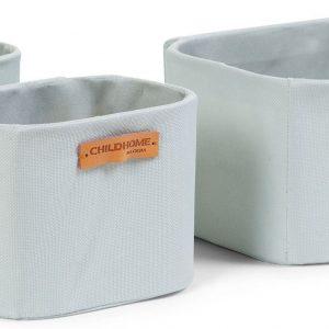 Childhome Förvaring 3-Pack, Light Grey