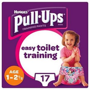 Huggies - Pull Up Princess 1-2 år -17 Pcs