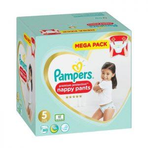 Pampers Premium Protection byxblöjor S5 12-17 kg 60 st